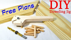 Shop Made Doweling Jig / FREE PLANS