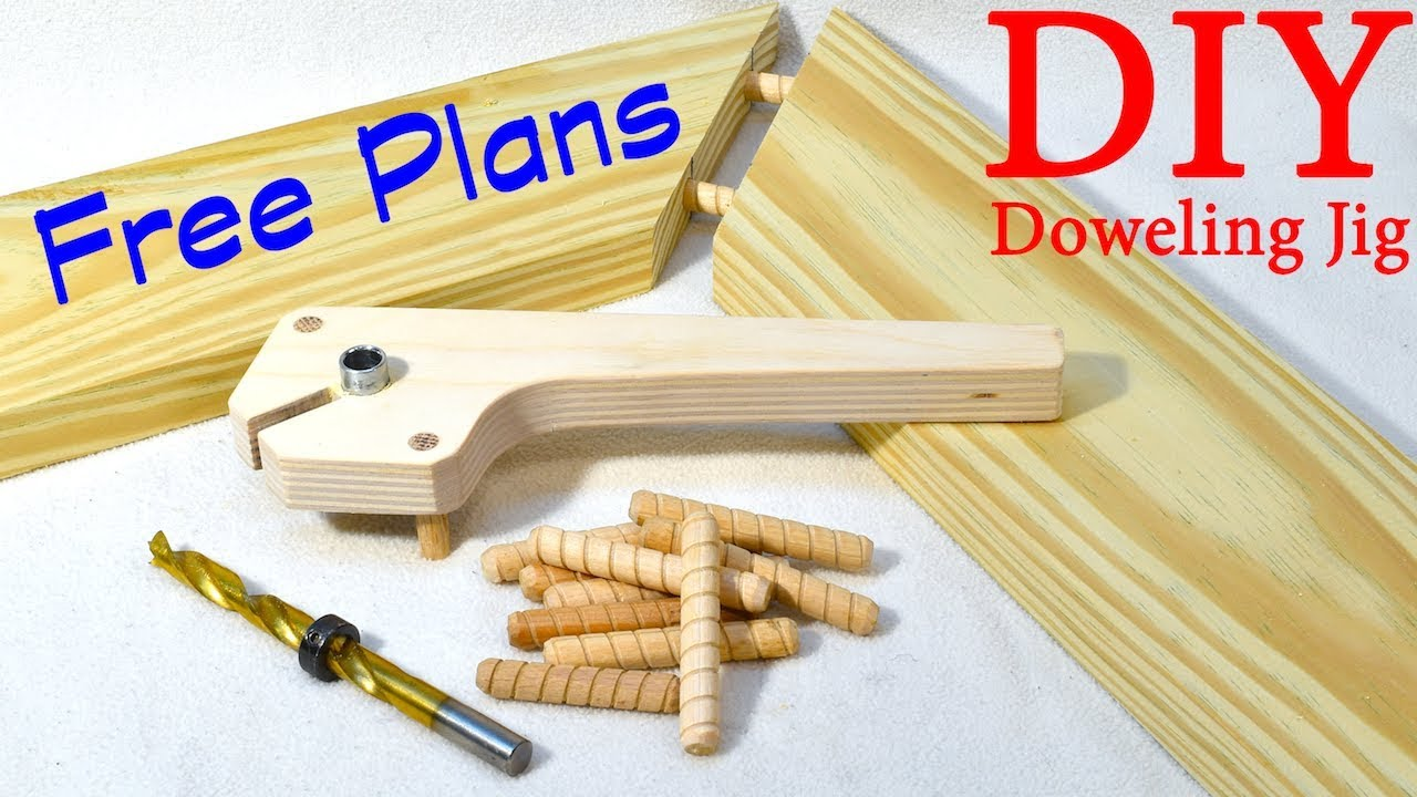 Shop Made Doweling Jig Free Plans Youtube