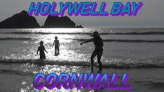 HOLYWELL BAY, NEWQUAY CORNWALL HOLIDAY. DAY 1