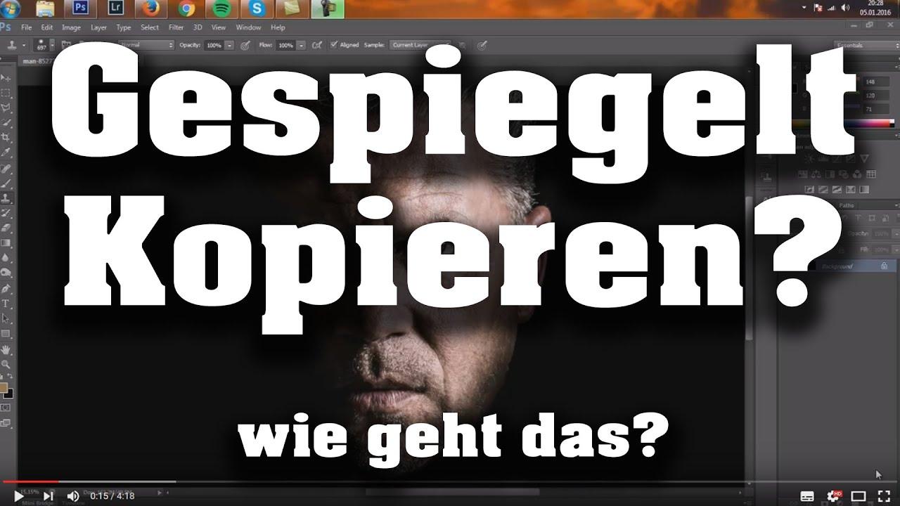 Photoshop Spiegeln