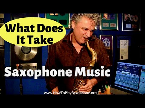 What Does It Take - Saxophone Music by Johnny Ferreira for HowToPlaySaxophone.org