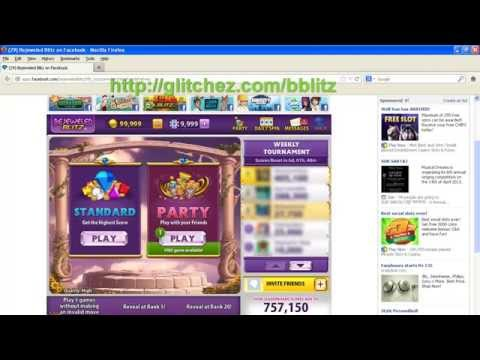 Bejeweled Blitz Facebook Cheats - Coins Party Tokens