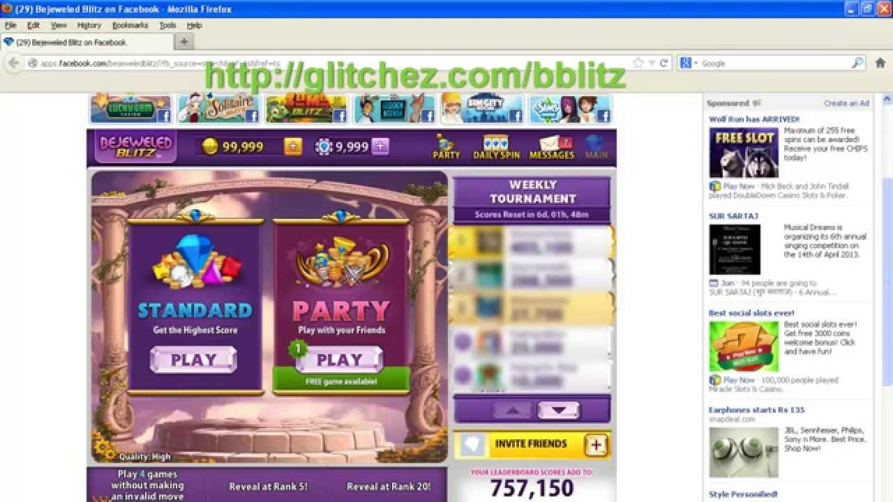 bejeweled blitz cheat engine 6.2