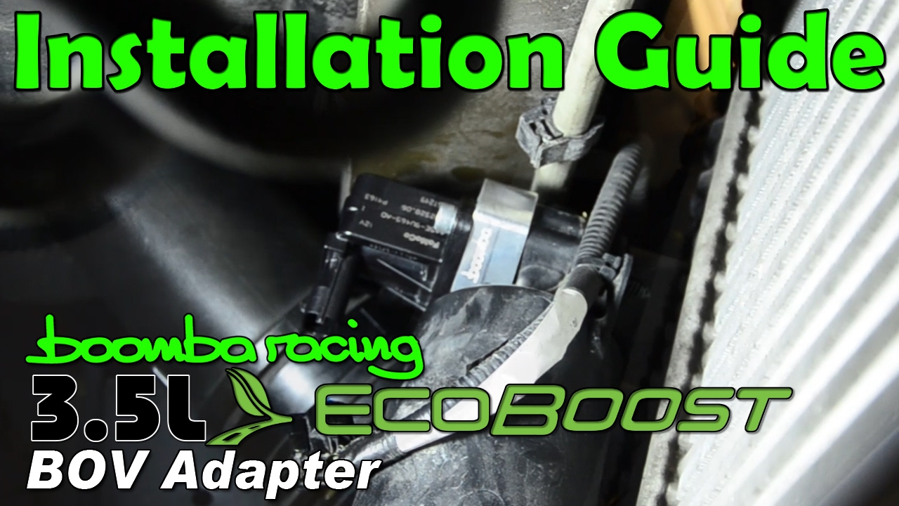 2017 Ford Fusion 2 0 Ecoboost >> F-150 BOV (Blow Off Valve) Adapter Installation Guide (2013-2016 3.5 & 2015 + 2.7 Ecoboost ...