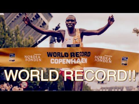 🔥 Geoffrey Kamworor Obliterates Half Marathon World Record In Copenhagen