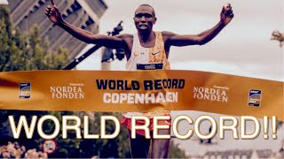 🔥 Geoffrey Kamworor Obliterates Half Marathon World Record