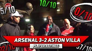 Arsenal 3-2 Villa | Guendouzi's Great Escape! | Player Ratings Ft Helen, Claude, Turkish & Curtis