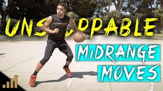 How to: 3 UNSTOPPABLE Midrange Scoring Moves to DESTROY Defenders!!!