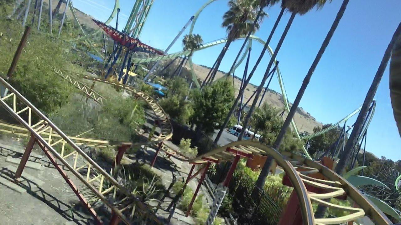 Cobra Pivothead POV Six Flags Discovery Kingdom