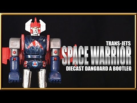Trans-Jets Space Warrior DANGUARD ACE Bootleg diecast robot toy