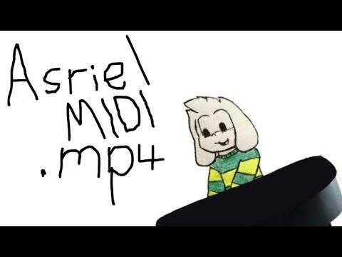 Asriel MIDI mp4