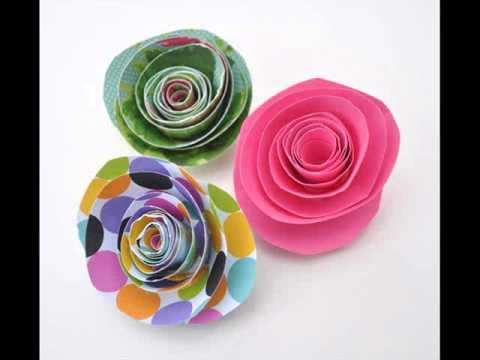 Craft paper ideas and craft paper flowers youtube craft paper ideas and craft paper flowers mightylinksfo