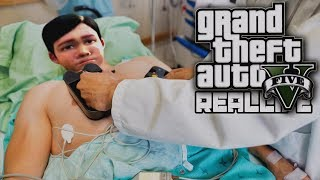 Реальная жизнь в GTA 5 - Попал в больницу! Это конец сериалу?