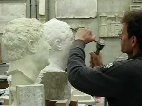 sculpting, modelling and carving sculptures