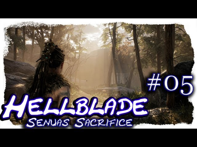 Hellblade - Senua's Sacrifice #05 🔷 Valravns Illusionen 🔷 Let's Play, 4k, UHD, blind, deutsch, LP