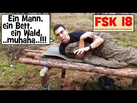 """""""Survival Mattin"""" überlebt eine Nacht allein im Wald nur knapp !!! FSK 18"""
