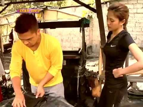 Julie Anne and Pekto compete to produce black oil