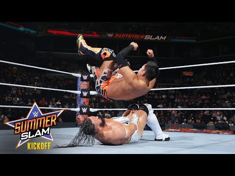 Neville puts WWE Cruiserweight Champion Akira Tozawa to the test: SummerSlam 2017 Kickoff Match