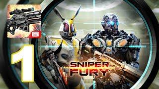 Sniper Fury - Gameplay Walkthrough Part 1 - Murmansk (Android Games)