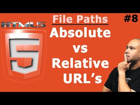 HTML File Paths | Absolute Vs Relative URLs | Tutorial For Beginners