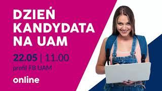 Dzień Kandydata na UAM 2021 ONLINE