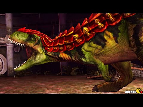 Strongest Dinosaurs Battle Max Level GORGOSAURUS In Action - Jurassic World The Game