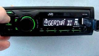 Автомагнитола JVC KD-X100