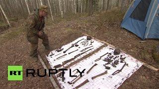 В Ленинградской области найдены останки двух воинов, погибших в ходе ВОВ