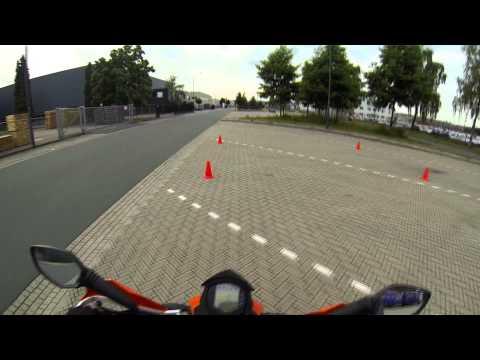 Motor Rijles 3 [A1] Motor rijschool Karin Aalhuizen [GoPro Hero 3 Black]