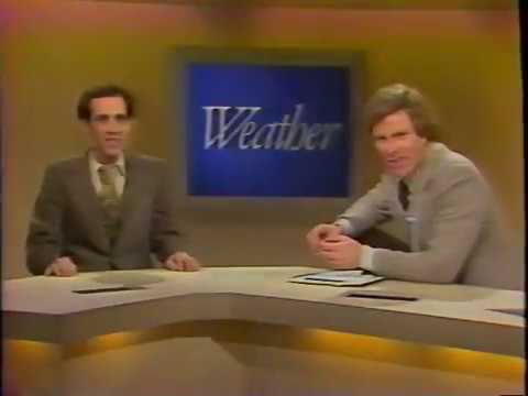 David Keller's first weather audition  WRC TV4 Washington, DC - 12/1980