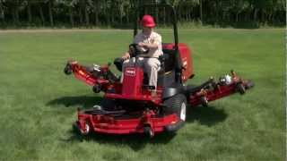 Toro Groundsmaster® 4000-D and 4100-D