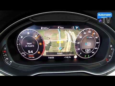 2016 Audi A4 Avant 30 Tdi 272hp 0 100 Kmh 60fps Youtube