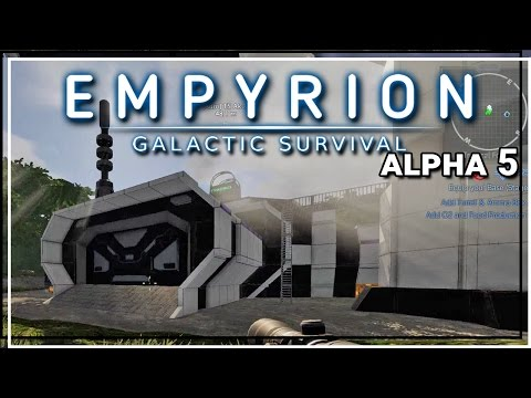 ★ Empyrion Galactic Survival alpha 5 gameplay - Trade station  - Part 3 - Empyrion alpha 5