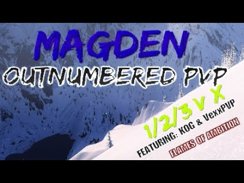 ESO OUTNUMBERED PVP - Magicka Warden ' Brittle Build' ❄️ |