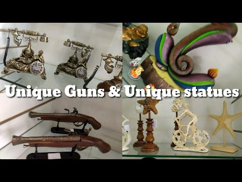 Antique & Unique Collection / Guns & Statues / Supply All Over India