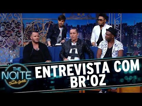 The Noite (01/08/16) - Entrevista com Br'oz
