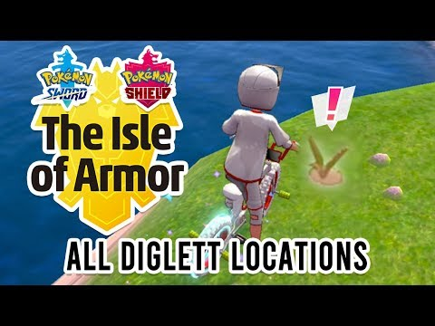 All 151 Diglett Locations in Pokemon Sword and Shield Isle of Armor DLC (1/2) |
