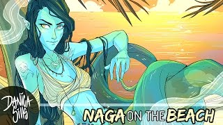 Video Naga on the Beach ♦ Digital Speedpaint ♦ Making My Art Goals download MP3, 3GP, MP4, WEBM, AVI, FLV Juni 2018
