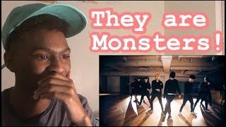SINGER REACTION TO EXO 엑소 'Monster' Dance Practice