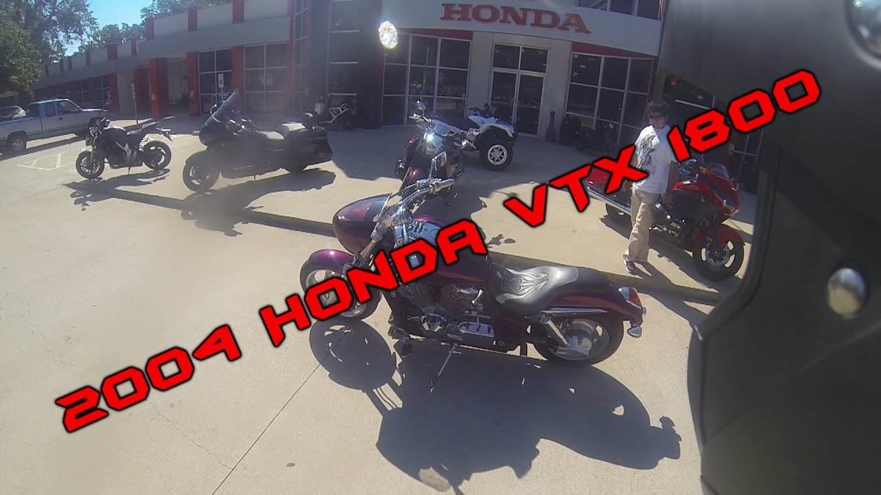 bike reviews 001 2004 honda vtx 1800 youtube. Black Bedroom Furniture Sets. Home Design Ideas