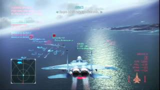 EAGLEHEART032 ACE COMBAT INFINITY - NAVAL ASSAULT - F15C EAGLE