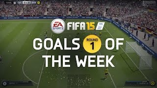 FIFA 15 - Best Goals of the Week - Round 1