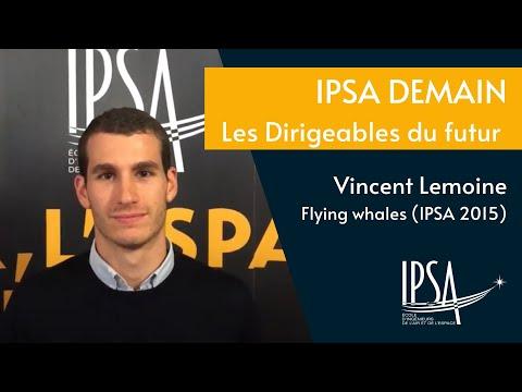 Conférence IPSA Demain - les dirigeables du futur (avec Flying Whales)