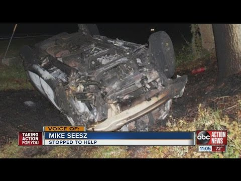 Rollover crash killed 7-year-old girl in Polk County