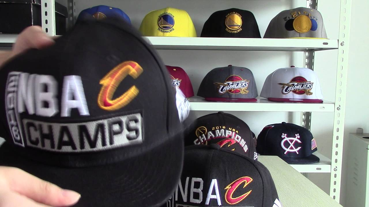Comparison of NBA Cleveland Cavaliers 2016 Adidas Finals Champions Locker  Room Snapback Cap Hat 87e52834a8d0