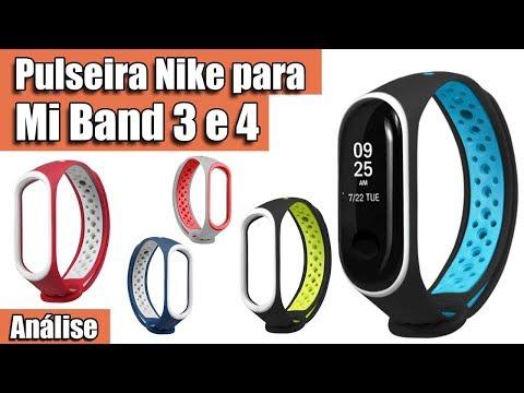 Análise Da Pulseira Nike Para Mi Band 3 E 4