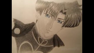 Sailor Moon Crystal - Prince Endymion Drawing
