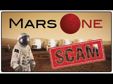Mars one finalist announces that it's all a scam