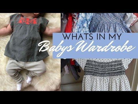 What's In My BABYS WARDROBE/CLOSET | Fleur De Force