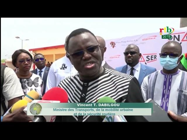 Cérémonie d'inauguration de la Station de Pesage au corridor d'Accola Ouaga Niangoloko -Burkina Faso